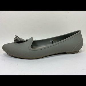 Crocs Eve Embellished Ballet Flats Women's 8